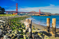 Golden Gate San Francisco, Kalifornien, USA. Arkivbilder