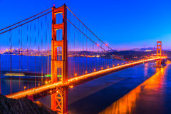 Golden Gate San Francisco, Kalifornien, USA Royaltyfri Foto