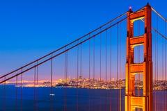 Golden Gate San Francisco, Kalifornien, USA Fotografering för Bildbyråer
