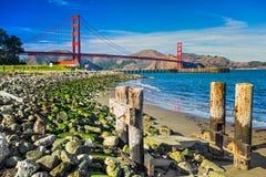 Golden Gate, San Francisco, la Californie, Etats-Unis. Images stock