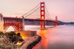 Golden Gate, San Francisco, la Californie, Etats-Unis Photos stock