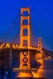 Golden Gate, San Francisco, la Californie, Etats-Unis Photographie stock libre de droits