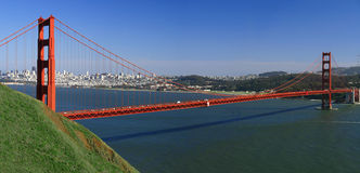 Golden Gate San Francisco Panorama Stock Photography