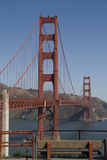 Golden Gate,San Fransisco. In Sunny day .Vertical Format Royalty Free Stock Images
