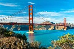 Golden Gate, San Fransisco, Kalifornia, usa Zdjęcia Royalty Free