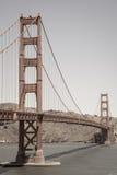 Golden Gate in sepia tone. Golden Gate in sepia. San Francisco, California. USA Royalty Free Stock Image