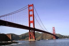Golden Gate, SF Royalty Free Stock Images