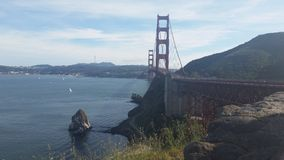 Golden Gate SFO Royalty Free Stock Image