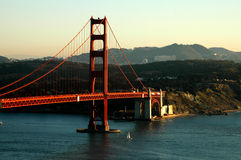 Golden Gate Sunset Stock Image