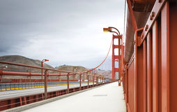 Golden Gate suspension bridge Stock Photography