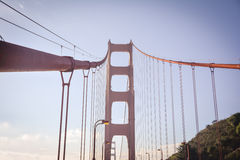 Golden Gate Suspension Bridge San Francisco CA Stock Photo