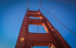 Golden Gate Suspension Bridge San Francisco CA Royalty Free Stock Photography