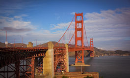 Golden Gate Suspension Bridge San Francisco CA Stock Image