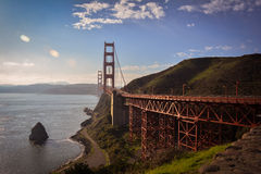 Golden Gate Suspension Bridge San Francisco CA Royalty Free Stock Photo