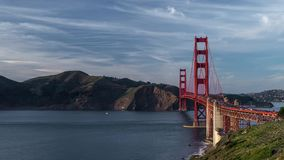 Golden Gate Timelapse stock footage
