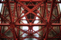 Golden Gate Underbelly Stock Image