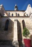 Golden Gate van Bourgondië, dorp van Chablis in Bourgogne-gebied, beroemd voor witte wijn royalty-vrije stock foto