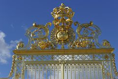 Golden Gate, Versailles Stock Image