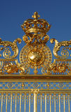 Golden gate of Versailles palace Stock Photography