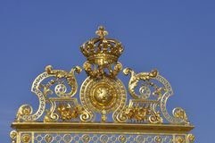 Golden Gate, Versailles Palace, France Royalty Free Stock Images
