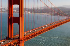Golden Gate View Royalty Free Stock Photography
