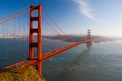 Golden Gate View Stock Photography