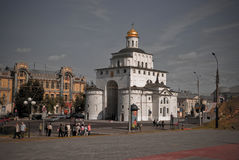 Golden gate of Vladimir royalty free stock images