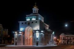 Golden Gate - Vladimir, Russia royalty free stock photo