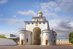 Golden Gate in Vladimir. Russia. royalty free stock image