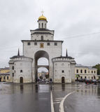 Golden gate in vladimir,russian federation. Golden gate is taken in vladimir,russian federation Stock Image