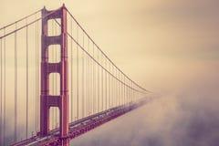Golden Gate W mgłę Obraz Royalty Free