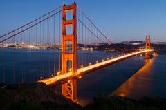 Golden Gate widok Zdjęcie Royalty Free