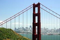 Golden- Gateansicht Lizenzfreie Stockbilder