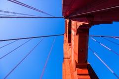 Golden Gateboog royalty-vrije stock afbeeldingen