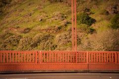 Golden Gatehangbrug San Francisco CA Royalty-vrije Stock Foto's