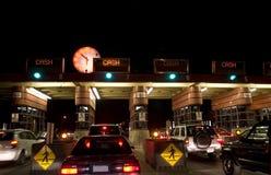 Golden- GateMautstraße Stockfoto