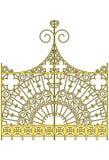 Golden gates Stock Image