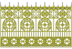 Golden gates Royalty Free Stock Image