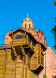 The Golden Gates with the church - Kiev Royalty Free Stock Photo