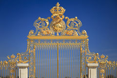 Golden Gates In Versailles. France Royalty Free Stock Images