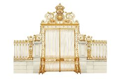 Golden gates Royalty Free Stock Image