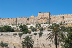 Golden gates of Jerusalem Stock Photos