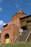 Golden Gates in Kiev stock images