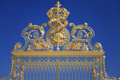 Golden Gates in Versailles. France Stock Photo