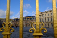 The Golden Gates of Versailles Royalty Free Stock Photos