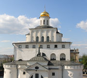 The Golden Gates of Vladimir. Russia. The Golden Gates of Vladimir, constructed between 1158 and 1164. Vladimir. Golden Ring. Russia Stock Image