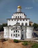 Golden Gates of Vladimir , the town of Golden Ring royalty free stock photos