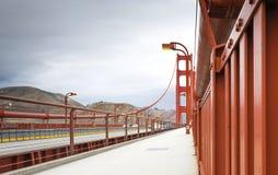 Golden Gateupphängningbro Arkivbild