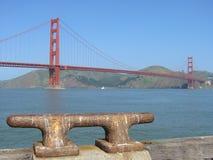 Golden Gateverankerungs- Stockfoto