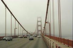 Golden Gateverkehr Stockfoto